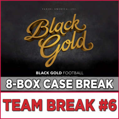 2015 Panini Black Gold Football (Choose Team - Case Break #6) Football