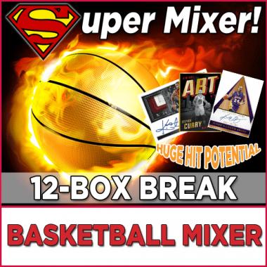 2016-17 BASKETBALL SUPER MIXER (RANDOM TEAM - CASES BREAK #1) Random Team