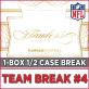 2016 Panini Flawless Football (Choose Team - HALF-Case Break #4) Football