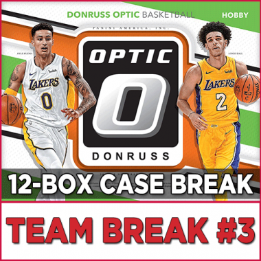 2017-18 Panini Donruss Optic Basketball (Choose Team - Case Break #3) Basketball