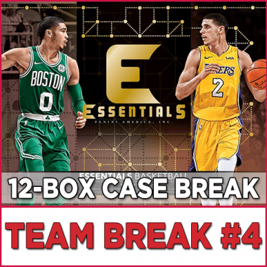 2017-18 Panini Essentials Basketball (Choose Team - Case Break #4) Basketball