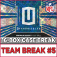 2017 Panini Unparalleled Football (Choose Team - Case Break #5) Football