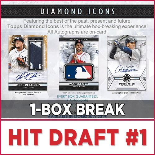 2019 Topps Diamond Icons Baseball Hit Draft Box Break 1